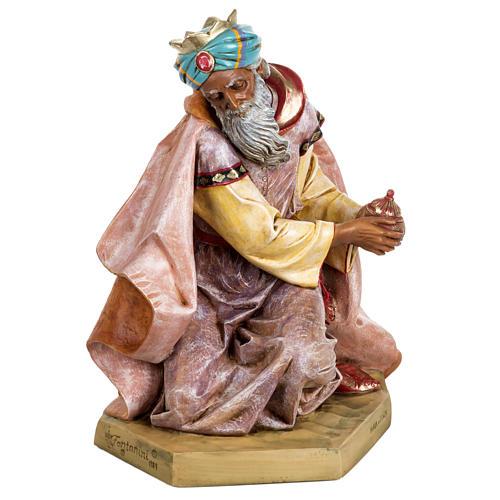 Król Mędrzec mulat 65 cm Fontanini szopka 1