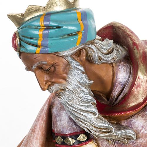 Król Mędrzec mulat 65 cm Fontanini szopka 3