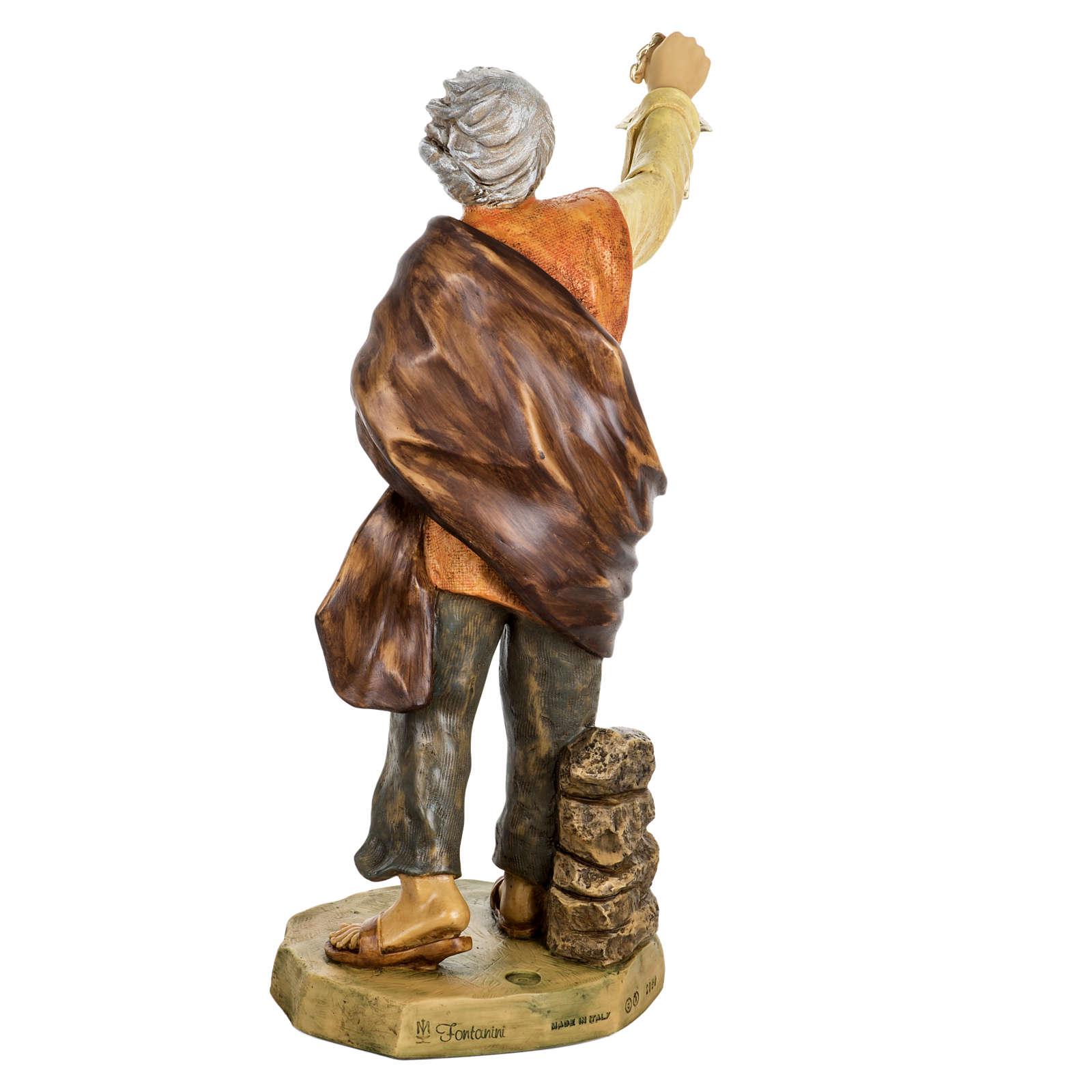 Pasterz z lampką 65 cm Fontanini 4