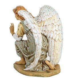 Ange à genoux crèche Fontanini 65 cm résine s5