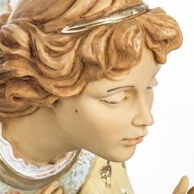 Anioł klęczący błękitny 65 cm Fontanini s2