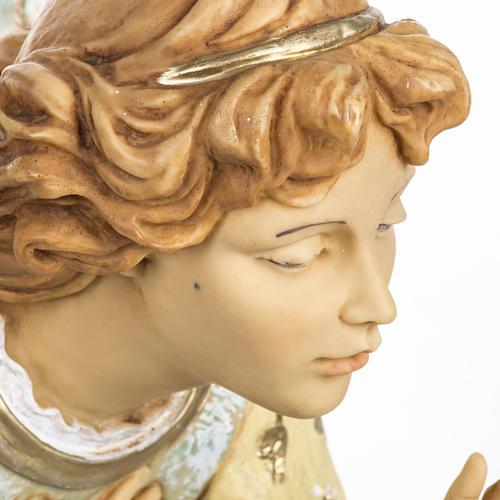 Anioł klęczący błękitny 65 cm Fontanini 2