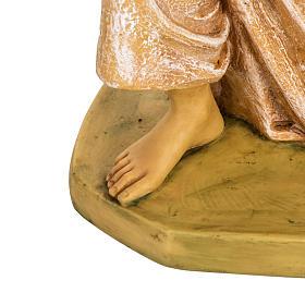 Ángel rosado de rodillas 65 cm. Fontanini s5