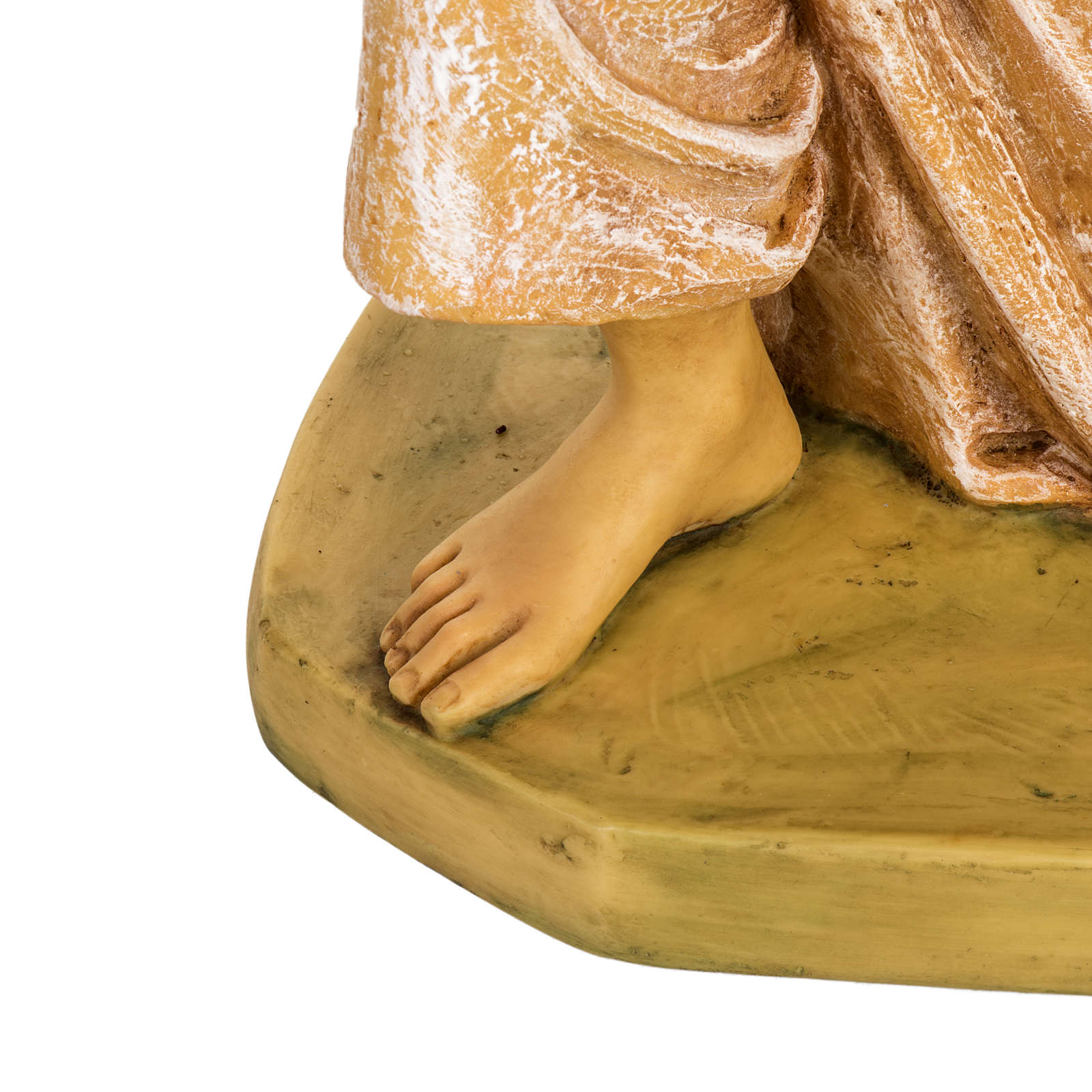 Angelo in ginocchio rosa 65 cm Fontanini 3