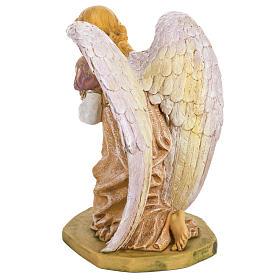 Anioł klęczący różowy 65 cm Fontanini s6