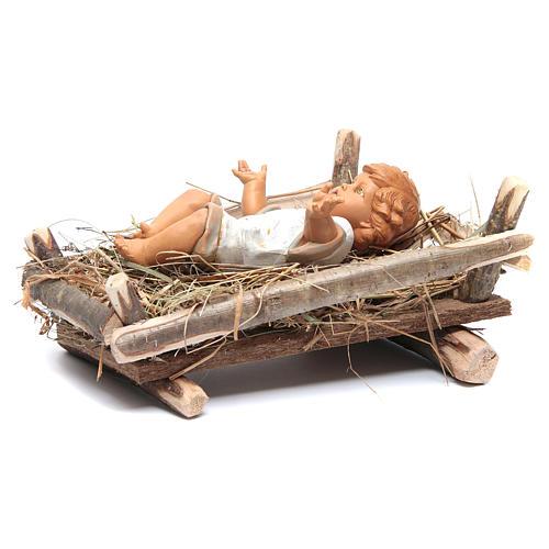Enfant Jésus crèche noel 52 cm Fontanini 4