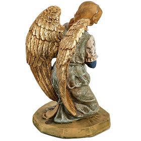 Engel 52 cm, auf den Knien, Fontanini Krippe s5