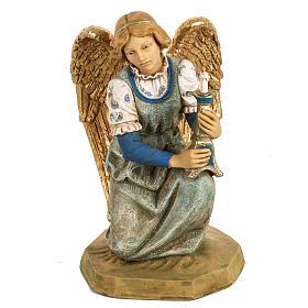 Ange à genoux crèche noel 52 cm Fontanini s1