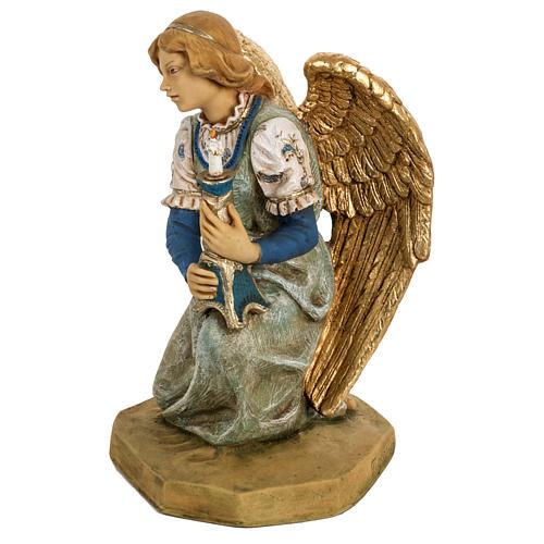 Ange à genoux crèche noel 52 cm Fontanini 3