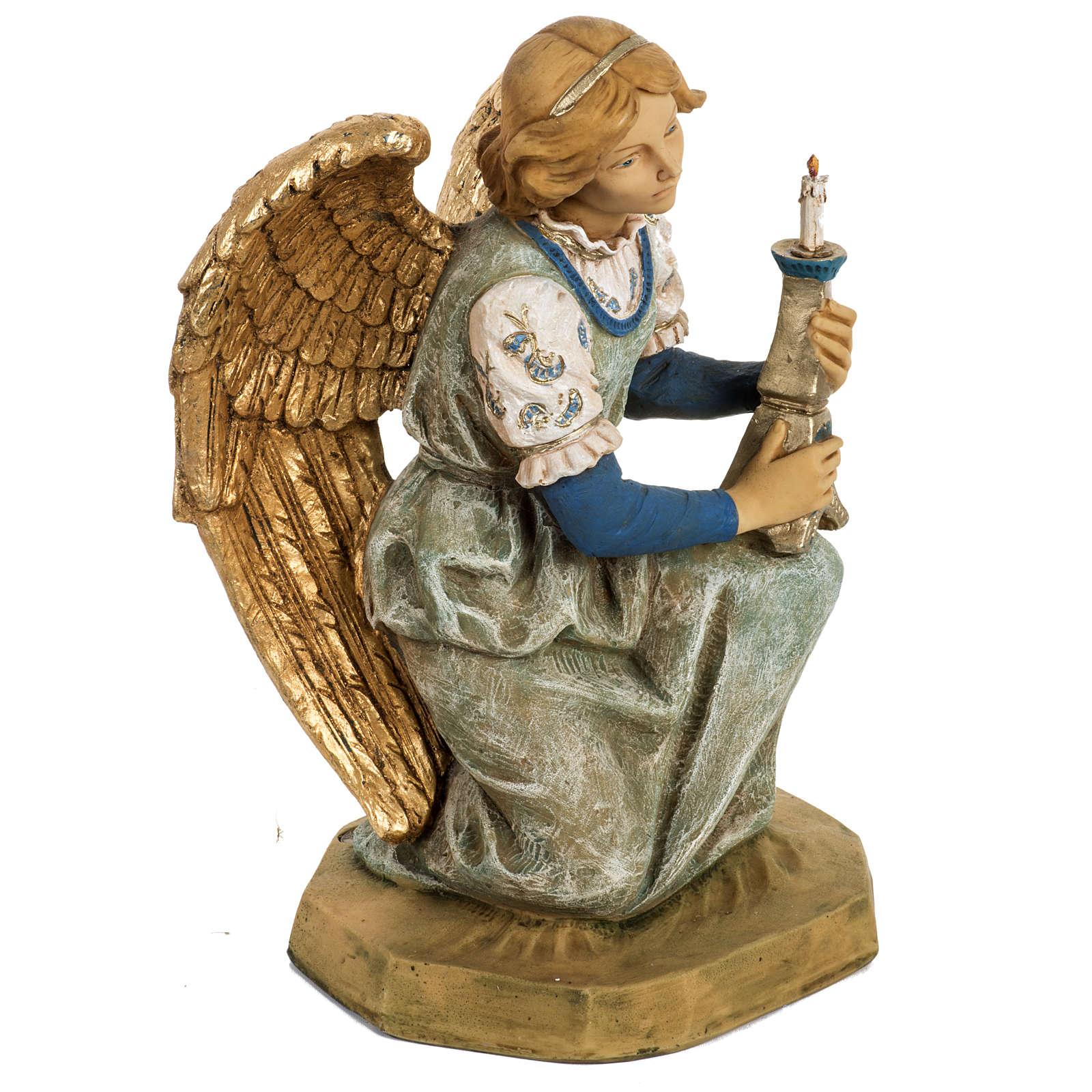 Anioł klęczący 52 cm szopka Fontanini 3