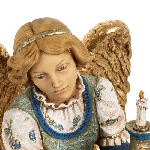 Anioł klęczący 52 cm szopka Fontanini 4