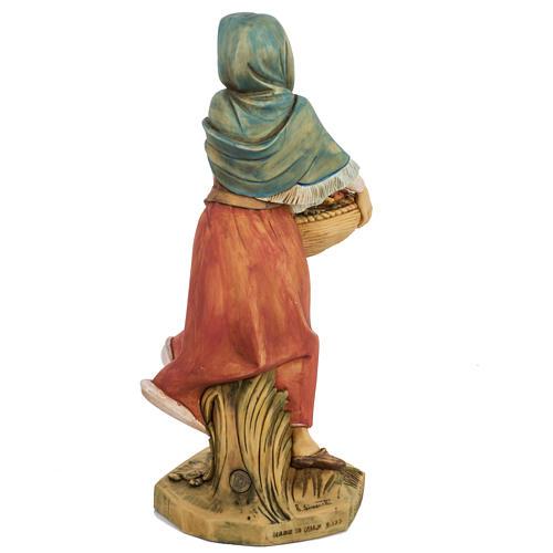 Mujer con fruta 52 cm. pesebre Fontanini 6
