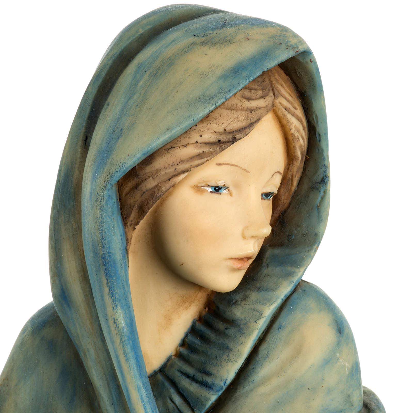 Donna con frutta 52 cm presepe Fontanini 4