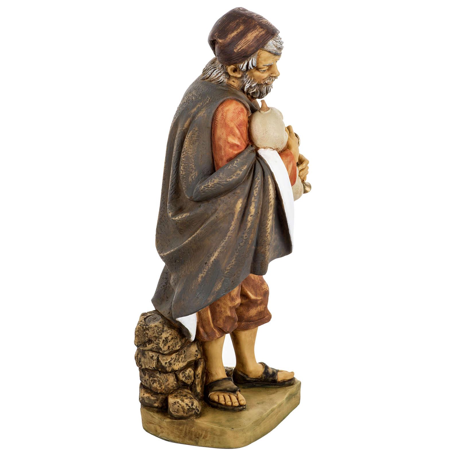 Joueur de musette crèche noel 52 cm Fontanini 3