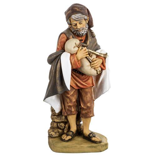 Joueur de musette crèche noel 52 cm Fontanini 1