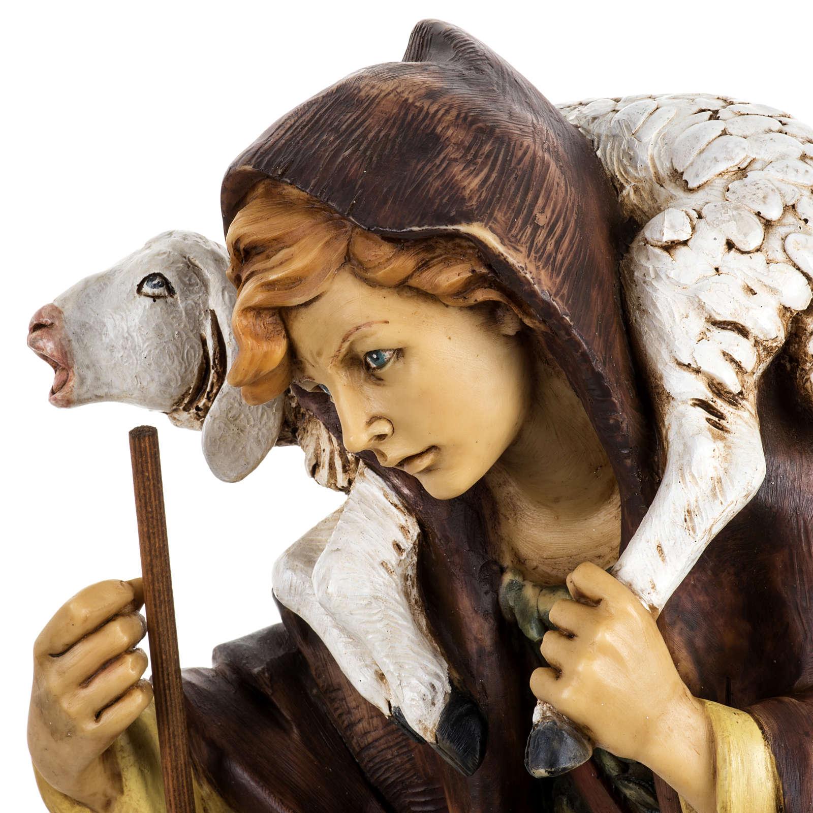 Pastore con pecora 52 cm presepe Fontanini 4