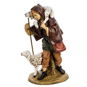 Pastore con pecora 52 cm presepe Fontanini s2