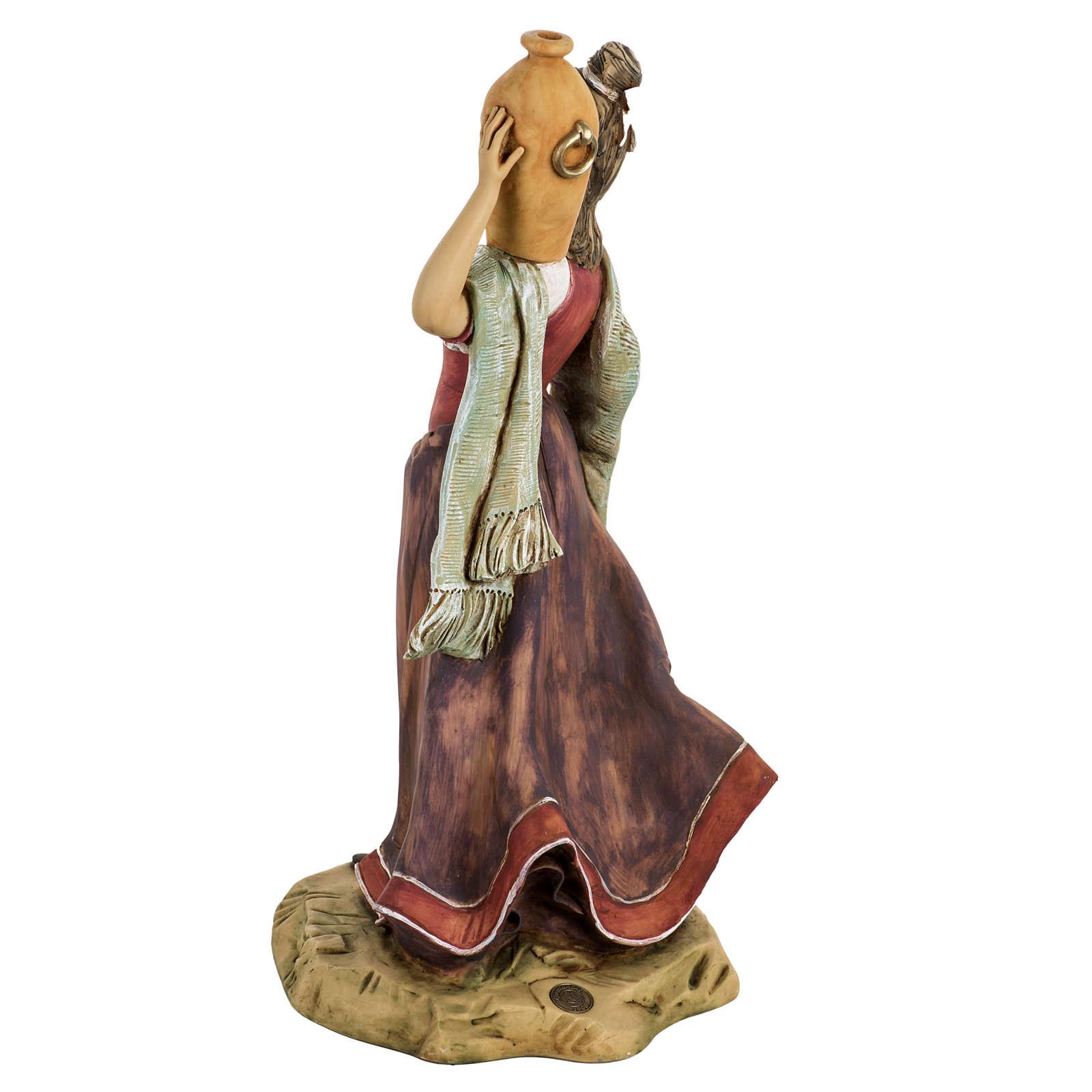 Donna con anfore 52 cm presepe Fontanini 3