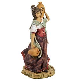 Donna con anfore 52 cm presepe Fontanini s3