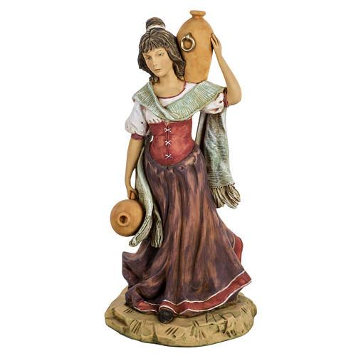 Mulher com ânforas presépio 52 cm Fontanini 1