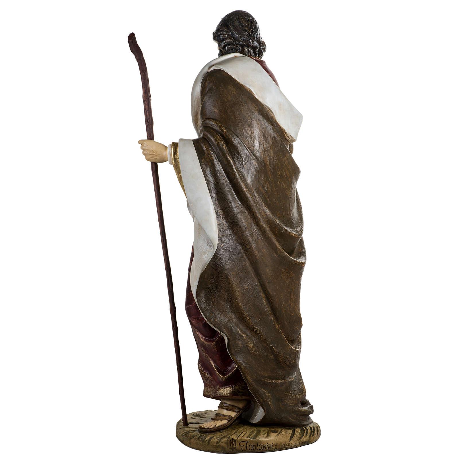 Saint Joseph crèche 180 cm résine Fontanini 3