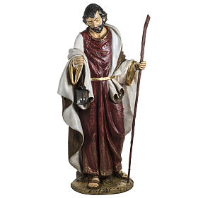 Saint Joseph crèche 180 cm résine Fontanini s1