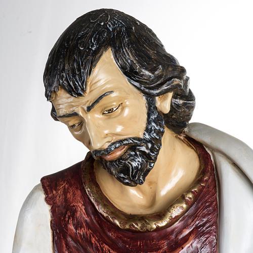 Saint Joseph crèche 180 cm résine Fontanini 2