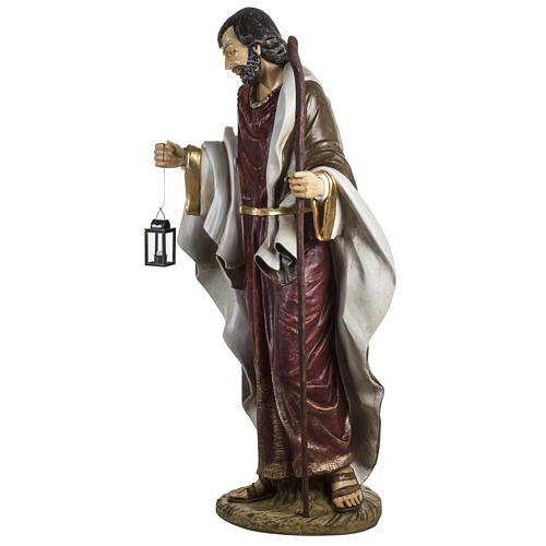 Saint Joseph crèche 180 cm résine Fontanini 5