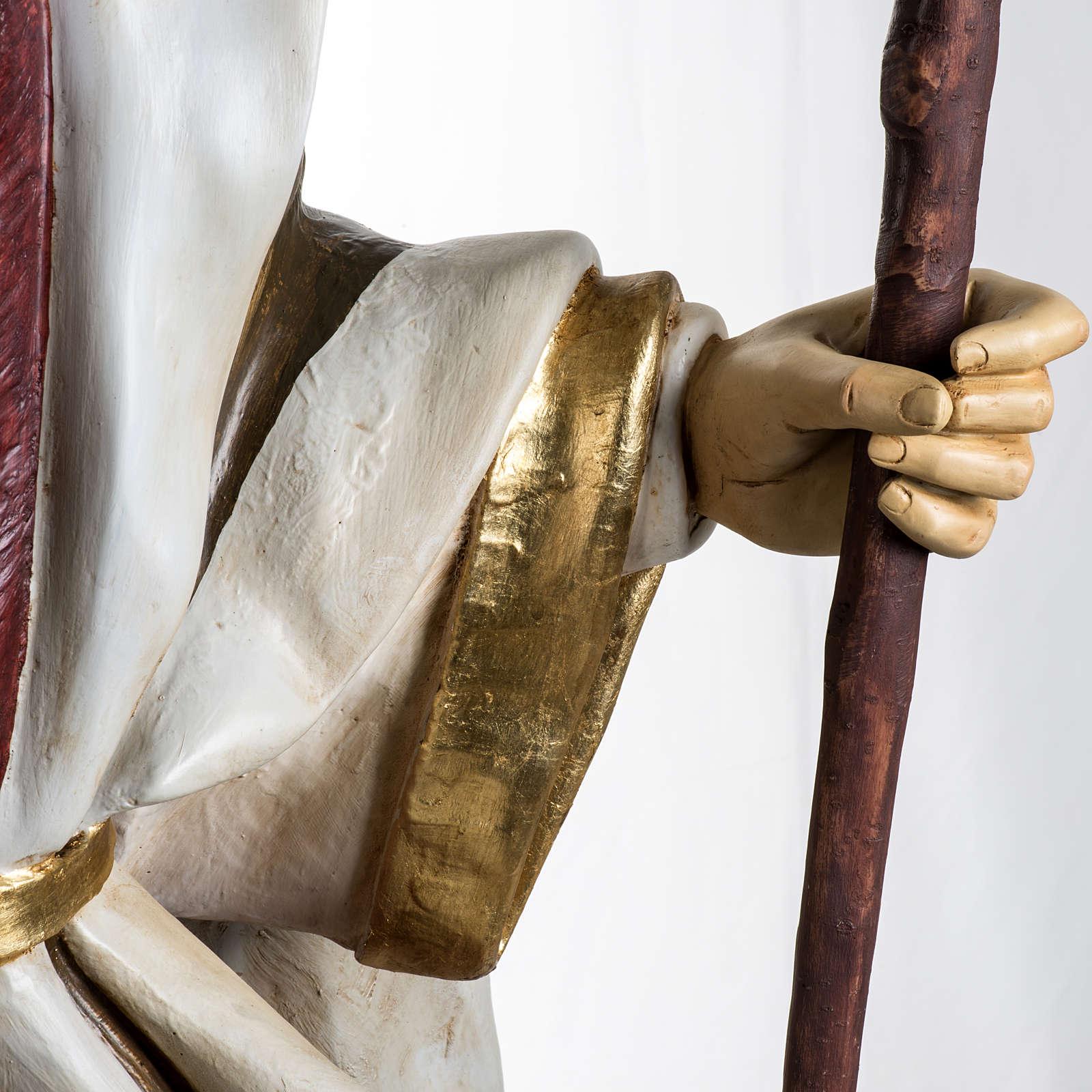 San Giuseppe 180 cm presepe Fontanini 4