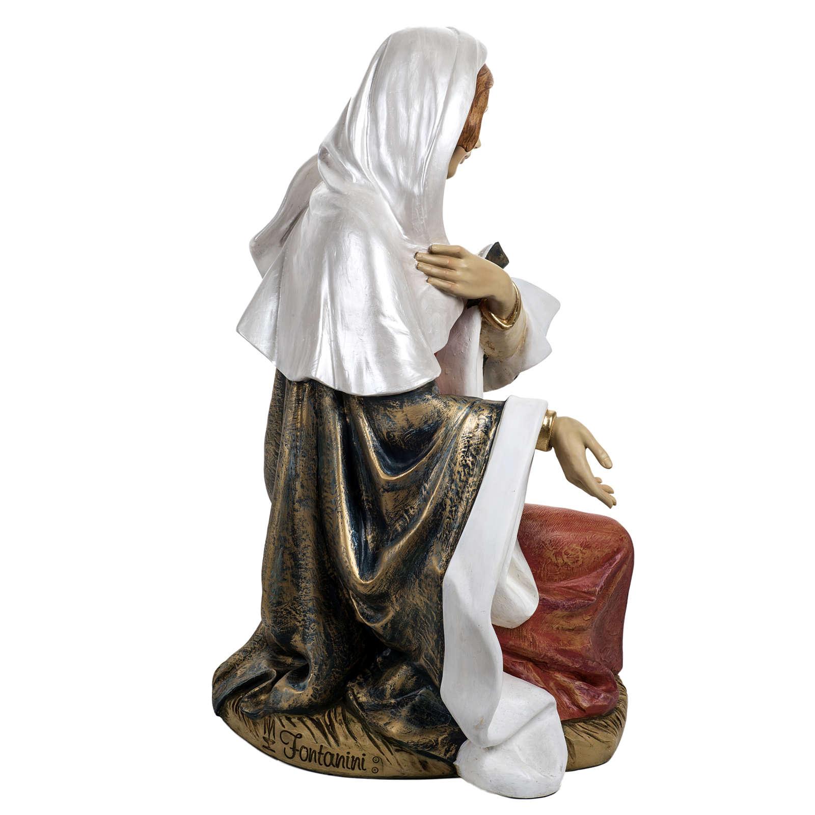 Vierge Marie crèche 180 cm résine Fontanini 3