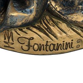 Vierge Marie crèche 180 cm résine Fontanini s7