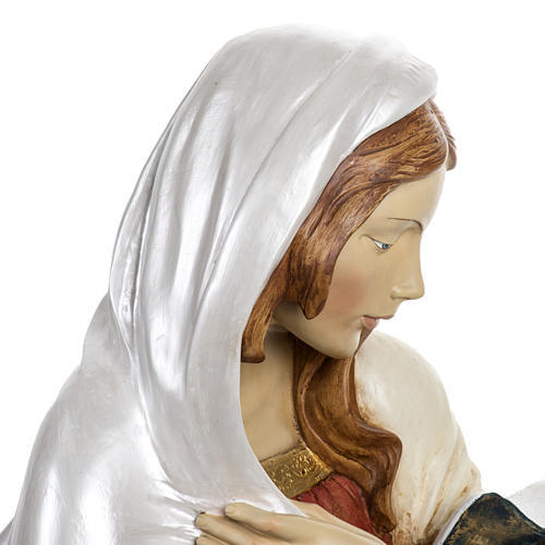 Vierge Marie crèche 180 cm résine Fontanini 6