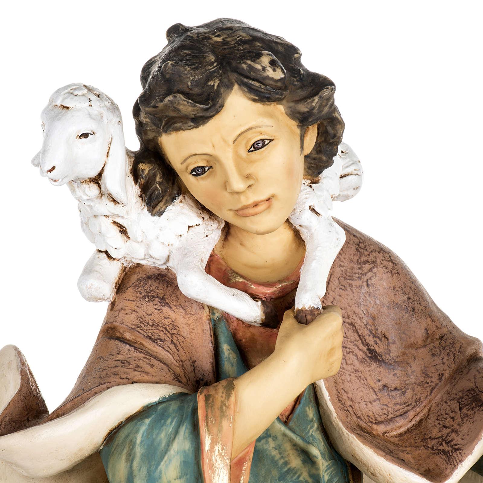 Pastore con agnello e pecora 85 cm Fontanini 3