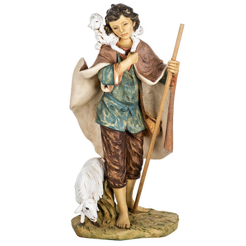 Pastore con agnello e pecora 85 cm Fontanini 1
