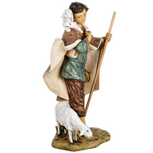 Pastore con agnello e pecora 85 cm Fontanini 7