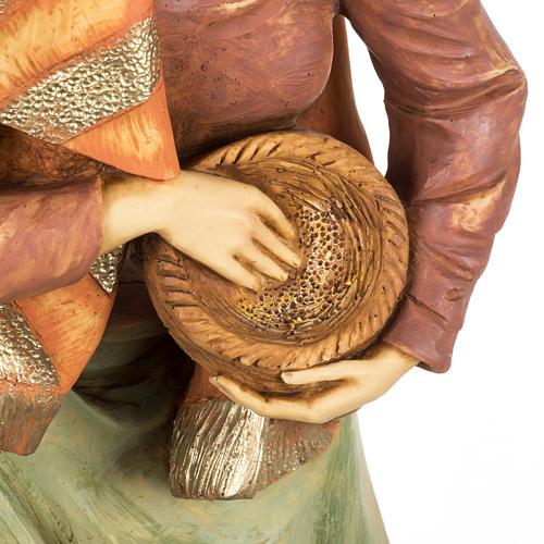Pastorella Fontanini presepe 85 cm resina 7