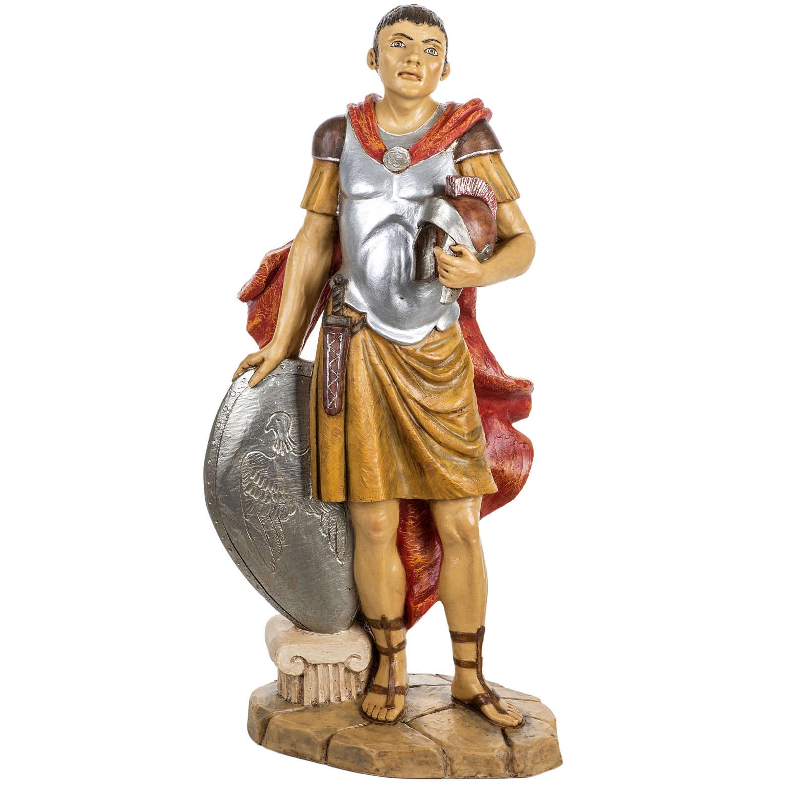 Soldat roman crèche Fontanini 65 cm résine 3