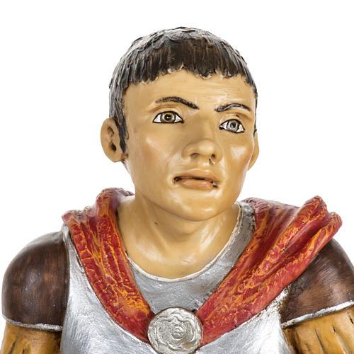 Soldat roman crèche Fontanini 65 cm résine 2