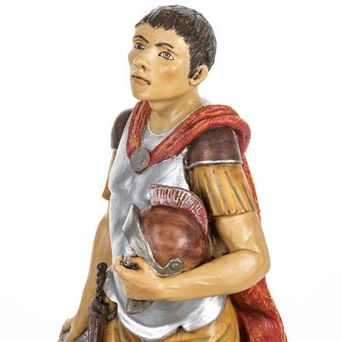 Soldato romano Fontanini presepe 65 cm resina 6