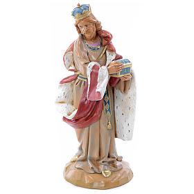 Krippenfiguren: 30 cm stehender heiliger König, Fontanini Krippe