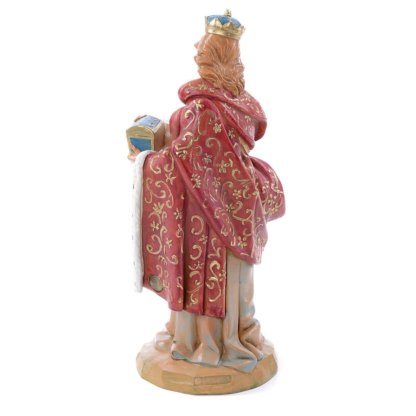Re Magio bianco in piedi 30 cm Fontanini 4
