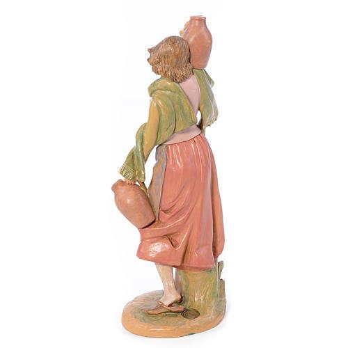 Pastora con jarra 30 cm. Fontanini 3