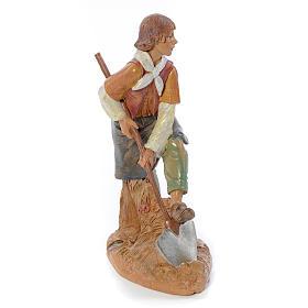 Pastore con vanga 30 cm Fontanini s4