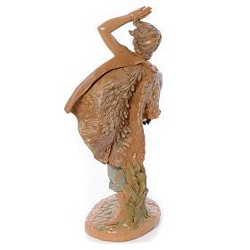 Pastore con pecora in mano 30 cm Fontanini s3