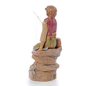 Pescador sentado 30 cm. Fontanini s3
