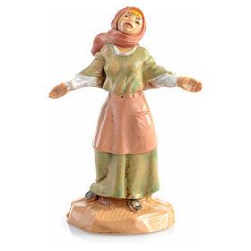 Figury do szopki: Pastuszka otwarte ramiona 6.5 cm Fontanini