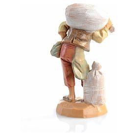 Berger sac sur les épaules crèche 6,5 cm Fontanini s4