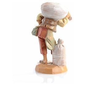 Berger sac sur les épaules crèche 6,5 cm Fontanini s2