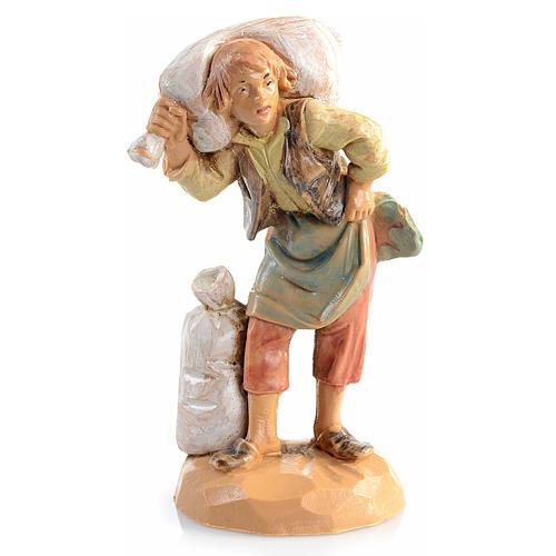 Pastore sacco in spalla 6,5 cm Fontanini 1