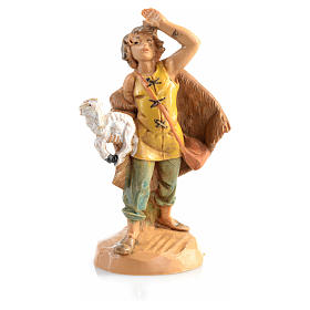 Pastore con pecora in mano 6,5cm Fontanini s3